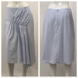 Nordstrom Signature Skirts - Nordstrom Signature Pinstripe Blue Skirt Size 10